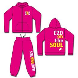S.W.C. with EZO ON THE SOUL パーカー&パンツ